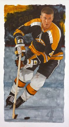 The Great Bobby Orr by artist Glen Green | The Great Bobby O… | Flickr