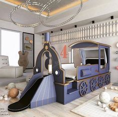 Childrens Bedrooms Boys, Kids Bedroom Boys, Boy Toddler Bedroom, Cool Kids Rooms, Kids Bedroom Designs, Kids Bedroom Furniture, Kids Room Design, Girl Room, Luxury Kids Bedroom