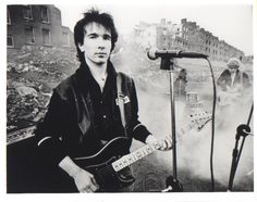 U2's The Edge - very early promo photo