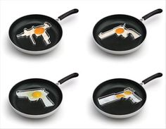 Cool Kitchen Crap You Never Knew You Wanted  I can't disagree #cooking #guns