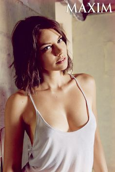 Lauren Cohan, Walking Dead's Maggie, Strips Down for Maxim: Sexy Pics - Us Weekly