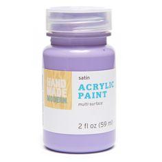 Hand Made Modern - 2oz Satin Acrylic Paint - Heather (Grey)