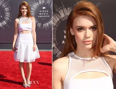 Holland Roden In Milly – 2014 MTV Video Music Awards #VMA