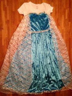 Met een strikje: Elsa jurk! Leuke simpele diy! en goedkoop