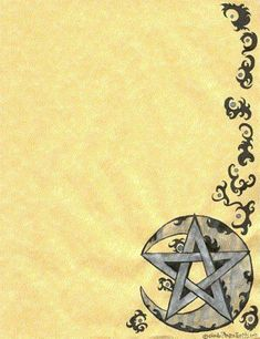 Blank page to copy for your BOS  Book of Shadows