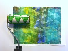 Printing with Gelli Arts®: Repeat Patterns and Texture with Gelli Arts® Gel Printing Plates