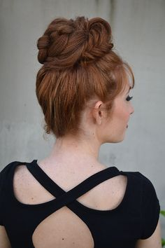Styles by Renee Marie | Knotted Fishtail Bun