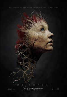 Awesome new poster for THE FOREST. #TheForest #NatalieDormer