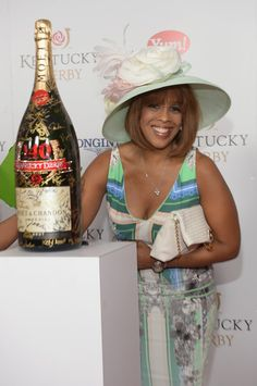 Pin for Later: Celebrities Party in the South at the Kentucky Derby  Gayle King got in on the derby fun.