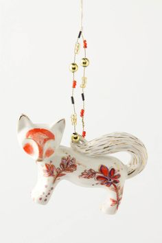 Fox Ornament $16.00 {Anthropologie}