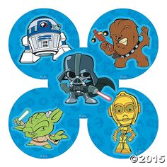 These Star Wars Pop Stickers are perfect for creating DIY thank you cards, birthday cards, collages, unique book covers and more. They're a fun wa. Star Wars Stickers, Pop Stickers, Birthday Favors, Party Favors, Birthday Cards, Favours, Birthday Ideas, Star Wars Birthday, Star Wars Party