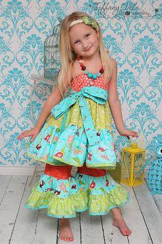 Suzie's twirly halter top and Dress PDF by CreateKidsCouture, $8.00