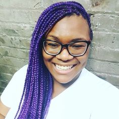 Purple Crochet Box Braids : ... on Pinterest Crochet Braids, Purple Box Braids and Crotchet Braids