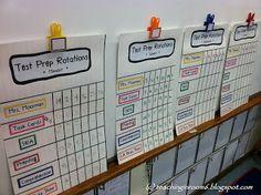 Classroom Freebies: Test Prep Stations