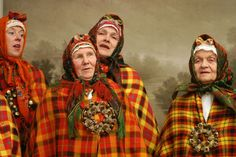 "Latvian Grandmothers,  ""Sfumato nesfumato"" Opening of the Latvian Museum of Photography."