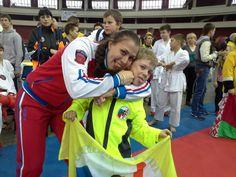 "Karate WKF Olympic Games of martial arts ""East-West"" St. Petersburg, Russia"
