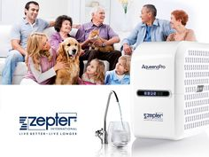 #AqueenaPro by #Zepter: purest #water for your #family!