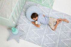 Lorena Canals Rugs from Modern Nursery 10 Colorful Rugs To Brighten Up Any Kids Room