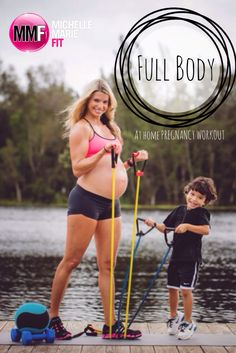 Full Body At Home Pregnancy Workout | Michelle Marie Fit