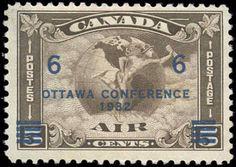 Canada #C4,F-VF, MNH