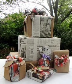 Amanda Williams Briday Shower- My Wrapping Projects :) So FUN!