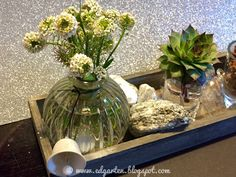 Reise durch den Advent - Deko Glass Vase, Home Decor, Hammer And Chisel, Small Glass Vases, Bon Voyage, Soap Bubbles, Decoration Home, Room Decor, Interior Decorating
