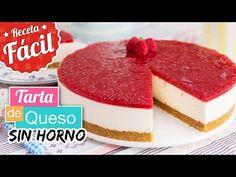 ¡Comparte esta publicación!Google+FacebookPinterest Cheesecake Facil, Mango Cheesecake, Cheesecake Cookies, Tart Recipes, Cooking Recipes, No Bake Desserts, Dessert Recipes, Torta Baby Shower, Almond Cakes