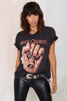 Vintage Alice Cooper Raise Your Fist Tee
