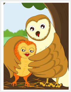 Momma Owl and Hootie- A momma owl teaching her baby to speak. Gadget World, Weird Science, Diy Supplies, 4 Kids, Tigger, Bullying, Fun Facts, Pikachu, Owl