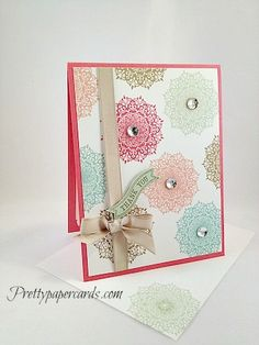 Delicate Thank You by Pretty Paper Cards - Cards and Paper Crafts at Splitcoaststampers