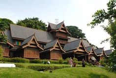 the Sultanate Palace- Melaka, Maylasia. The construction is amazing, beautifully done in Teak. Very peaceful here.