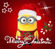 Hohohoho shared by Katja Geerz on We Heart It Funny Minion Pictures, Funny Minion Memes, Minions Quotes, Funny Images, Funny Photos, Funny Jokes, Happy New Year Minions, Happy Birthday Minions, Merry Christmas Minions