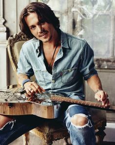 Johny Depp.....anything he does is good! Love this man!