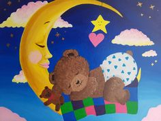 Acrylic painting for kids