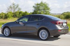2014 mazda 3 rear three quarters pictures Wallpaper