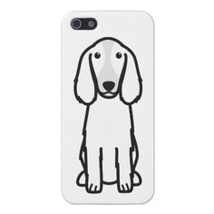 Welsh Springer Spaniel Dog Cartoon Cover For iPhone 5