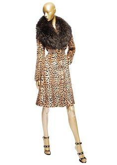 Pelliccia Stampa Leopardo