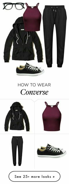 """""""Lazy Day"""" outfit Converse, lazy, workout and glasses Lazy Outfits, Outfits With Converse, College Outfits, Outfits For Teens, Cool Outfits, Casual Outfits, Lazy Day Outfits For Summer, Hollister Clothes, Teen Fashion"""