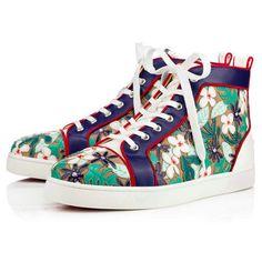 Louis Patch Men's Flat - Red Bottom Christian Louboutin Shoes