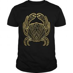 Awesome Tee Cancer Gold Aquarius Aries Cancer t shirt T shirts Gold T Shirts, Tee Shirts, Zodiac Shirts, Ovarian Cancer Awareness, Aquarius Zodiac, Sagittarius, Cool Tees, Funny Tshirts, T Shirts