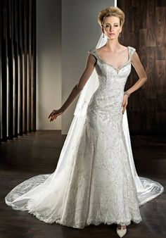 """The Knot - crystalmoon789's Inspiration Board - """"gowns"""""""