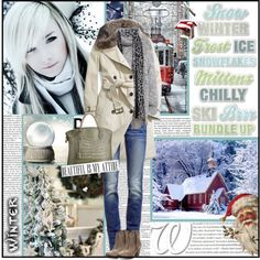 """winter"" by chareznasheer on Polyvore"
