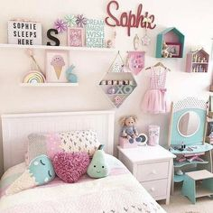Delightful teen girl bedrooms tips for a wonderful teen girl room styling, image number 7331308159 Boy And Girl Shared Bedroom, Teen Girl Bedrooms, Little Girl Rooms, Princess Bedrooms, Toddler Bedroom Girls, Decorating Toddler Girls Room, Childrens Bedroom, Daughters Room, Room Inspiration