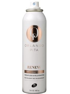 This Orlando Pita + T3 conditioning spray delivers a dose of moisture, shine, and softness to dry hair....