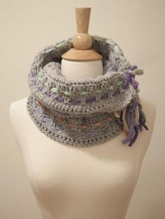 15 Fabulous Ways to Incorporate Braids into Your Crochet: Braids as Striping in Crochet