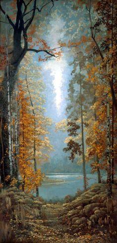 Описание картины Константина Васильева «Осень»