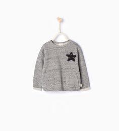 Shiny star sweatshirt-MUST HAVES-Baby girl   3 months - 3 years-KIDS   ZARA United States