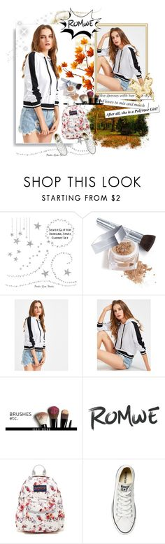 """Romwe contest"" by emily-5555 ❤ liked on Polyvore featuring Christian Dior, Bobbi Brown Cosmetics, JanSport and Converse"
