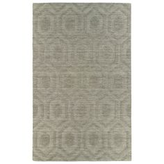 Trends Light Brown Loft Wool Rug (9'6 x 13'6)