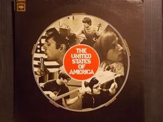 THE UNITED STATES OF AMERICA Self Titled GROUP GARAGE PSYCH ROCK VINYL MUSIC LP